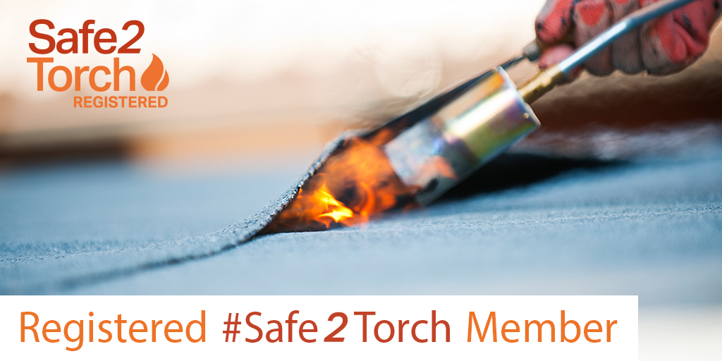 Telnik Roofing LTD are delighted to support the NFRC's Safe2Torch campaign!